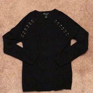 INV International Concepts black sweater